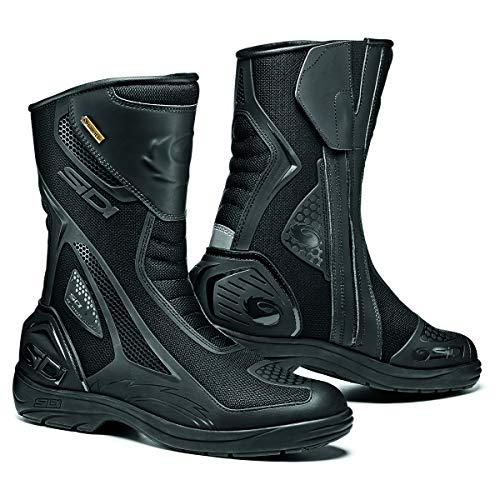 Sidi Aria Gore-Tex Motorcycle Boots Black SZ 8.5/42