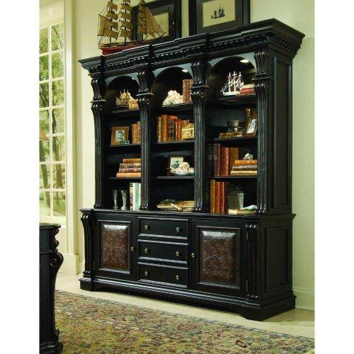 Hooker Furniture Telluride 3 Drawer Bookcase Base Cabinet