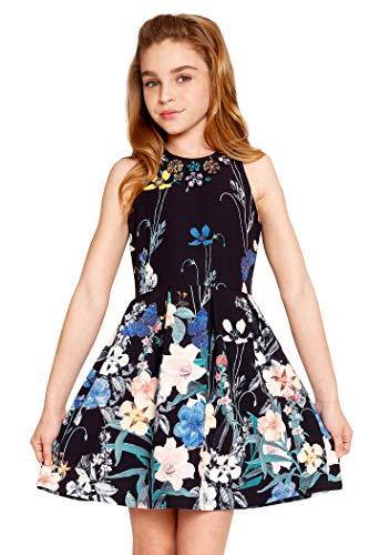 Hannah Banana, Big Girls Tween Embellished Party Dress, 7-16 (16,...