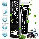 Aktivkohle Zahnpasta MayBeau Natürliche Zahnaufhellung Ohne Fluorid Zahnreinigung Bleaching Zähne...