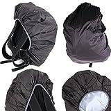 Protection anti-pluie noire pour sac à dos Eastpak modèles Out of office, Pinnacle,...