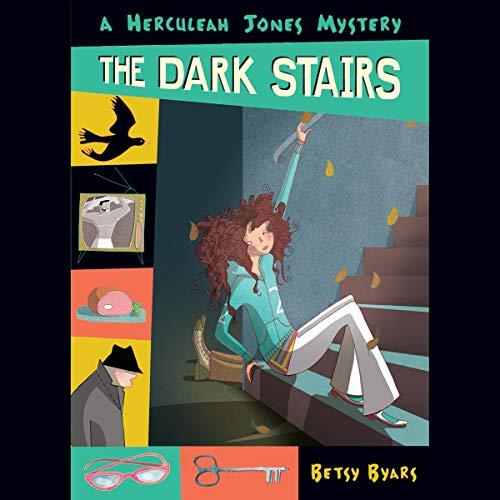 The Dark Stairs audiobook cover art