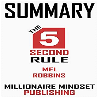 Summary: The 5 Second Rule by Mel Robbins audiobook cover art