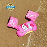 Swim Arm Bands Unicorn Trainer Float Foam Vest Learn Swimming Assistance Independence Fun Aid Water Pool Beach