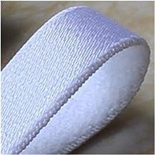 Xpwoz Wit/zwart Nylon Spandex Elastische schouderband 18mm Breedte (Color : White)