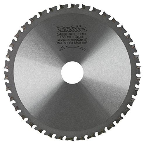 Makita B-09759 - Disco de HM de 185 mm 38 dientes para cortadora de metal lc1230