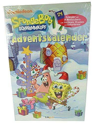 Spongebob Schwammkopf Adventskalender + Weihnachts Extra - Backen oder Bastelspaß zur Weihnachtszeit inkl. CD mit Weihnachtsliedern
