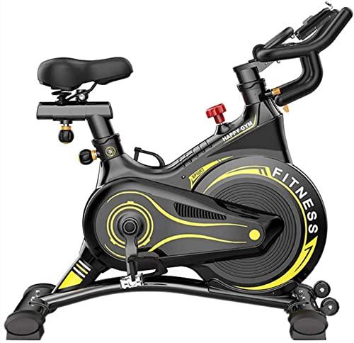 ZCYXQR Bicicletas estáticas Verticales - Aplicación Inteligente para Bicicleta estática Ajustable/Volante de inercia con Todo Incluido/Resistencia magnética (Deporte de Interior)