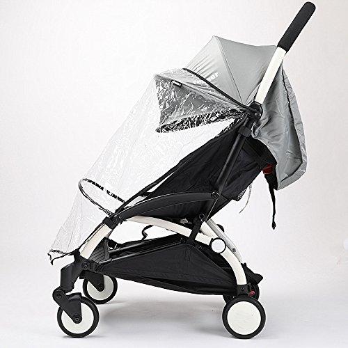 Universele baby kinderwagen accessoire Baby rijtuigen regenhoes winddicht Wind Covers goede kwaliteit Stofbescherming goedkope prijs baby kinderwagen regenjas autohoezen Half stijl