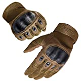 FREETOO Tactical Gloves for Men Military Gloves with Knuckle...