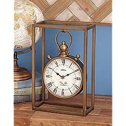 Deco 79 Fabulous And Unique Metal Table Clock