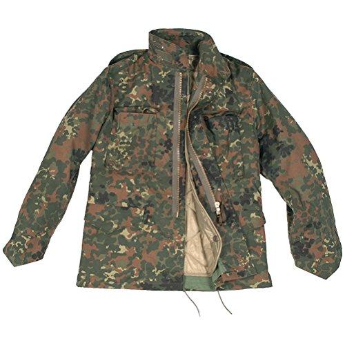 Mil-Tec Classic US M65 Jacket Flecktarn Size XL