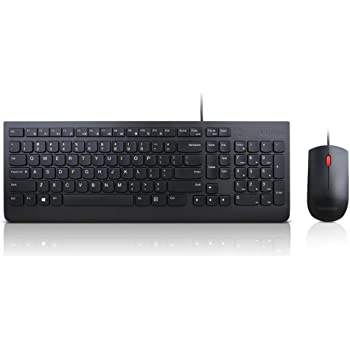 Lenovo 4X30L79883 Clavier USB QWERTY Anglais américain Noir