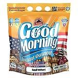 Max Protein - Good Morning Instant Oatmeal, Harina de avena, 1,5kg Red Velvet (Pack 2 ud.)