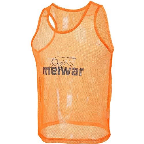meiwar Trainingsleibchen 10er Set Markierungshemden in orange, Größe S