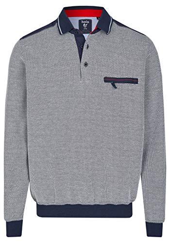 hajo Polo & Sportswear Herren Sweatshirt mit Polokragen
