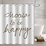 Home Grünes Blatt Thema Duschvorhang Tuch tropischer wasserdichter Vorhang Tuch dekorativer Duschvorhang mit Haken S.3 150x180cm