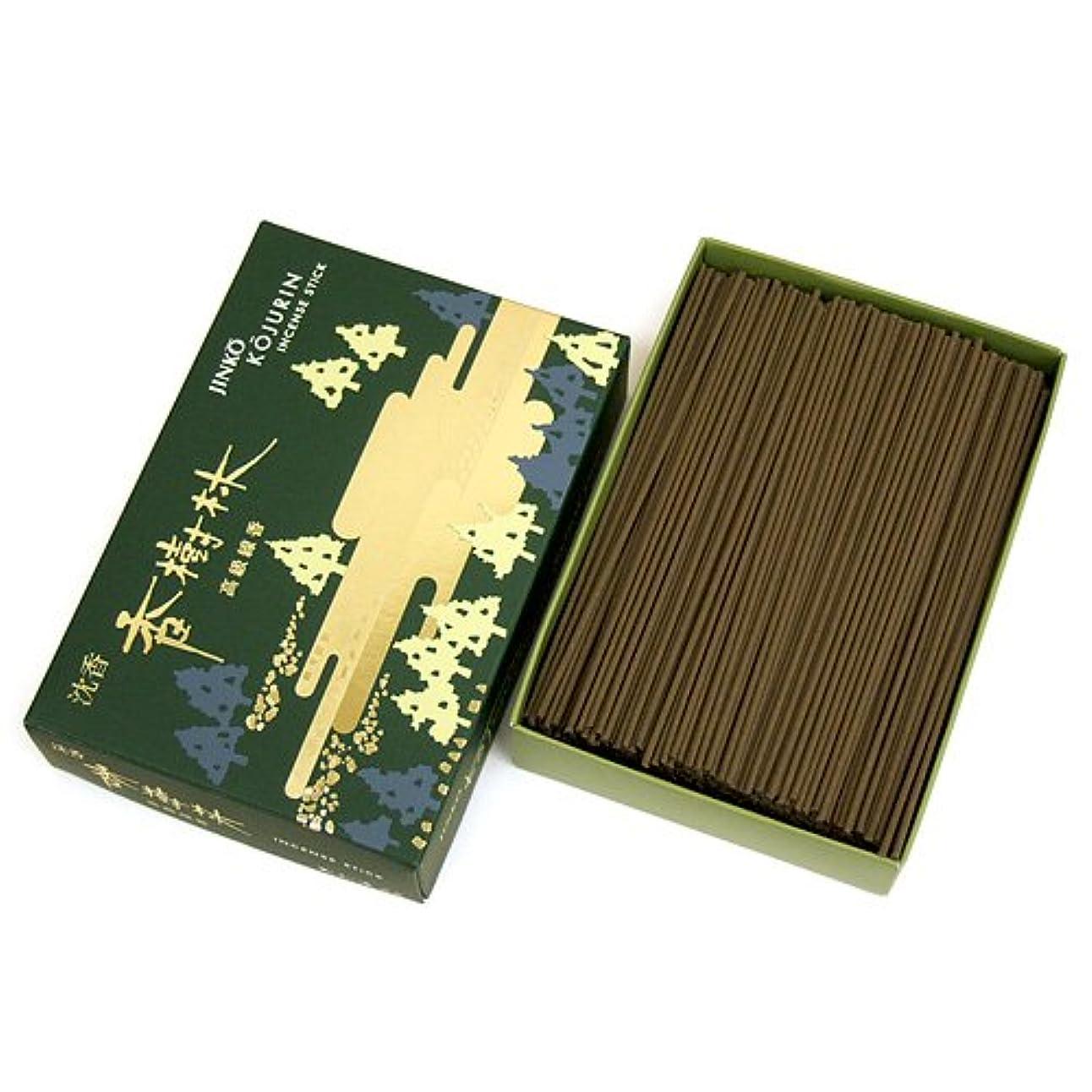 パケット自分奇妙な家庭用線香 沈香 香樹林 短寸 徳用大型箱(箱寸法15×10.5×3.5cm)◆爽やかな沈香の香りのお線香(玉初堂)