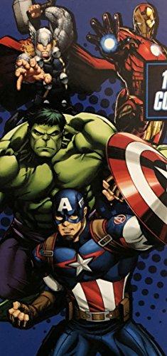 Jay Franco & Sons Marvel Avengers Heros Classic Beach Towel ~ 28' x 58'
