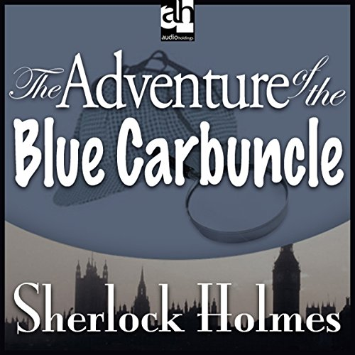 The Adventure of the Blue Carbuncle copertina