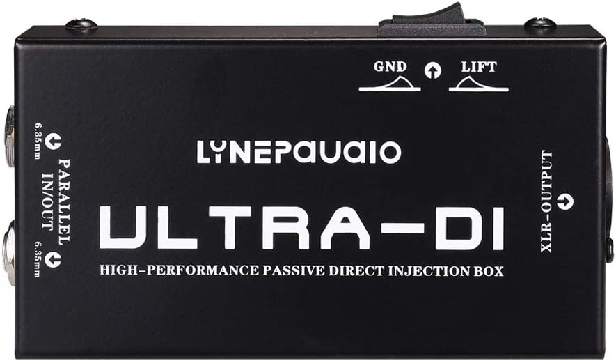 XIEYUNFEI-US Electric It is very popular Guitar Galvanizing Basso DI wi Box Max 74% OFF Passive