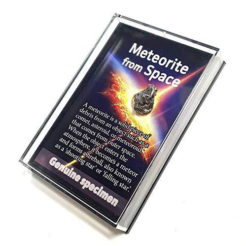 UKGE Meteorito auténtico en una caja de historia, Campo del Ciel Space Rock -...