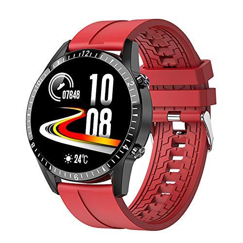 YUOXO Reloj Inteligente Control Táctil Rastreador de Actividad Fitness Rastreador de Actividad Impermeable Monitor de Ritmo Cardíaco Monitor de Sueño Adecuado para Fitness Al Aire Libre