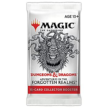 Magic  The Gathering Adventures in The Forgotten Realms Collector Booster | 15 Magic Cards