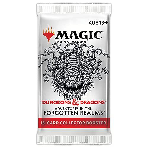 Booster de colecionador de Magic: The Gathering Adventures in Forgotten Realms | 15 cards de Magic - em inglês