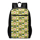 Lsjuee Set Sun Olive Mochila Unisex School Daily Mochila Ligera Casual Travel Outdoor Camping Daypack