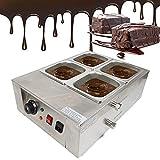 MOMOJA Macchina Tempera del Cioccolato 30 ° C ~ 80 ° C Fontaine di cioccolato Temperatrice a bagnomaria elettrica per cioccolato 1000 W