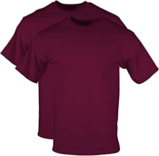 Men's DryBlend Workwear T-Shirts with Pocket, 2-Pack