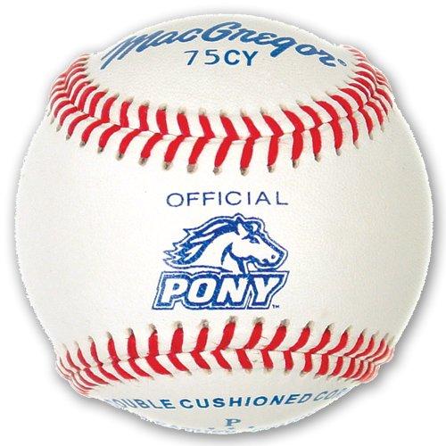 MacGregor Youth 75CY Official Pony League Baseball (uma dúzia)