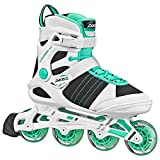 Pacer Explorer Inline Skates from Great for Indoor or Outdoor use. (Lady sz 6)