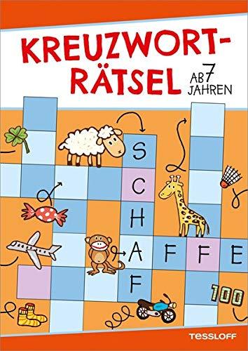 Kreuzworträtsel ab 7 Jahren (Rot/Schaf) (Rätsel, Spaß, Spiele)