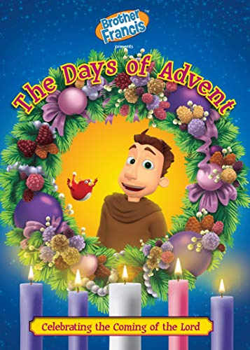 Brother Francis DVD Episode 17: The Days of Advent - Animated Bible and Catholic Videos - Christian Gifts for Kids