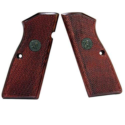 Pachmayr 63270 Renegade Wood Laminate Pistol Grips, Browning Hi Power, Rosewood Checkered
