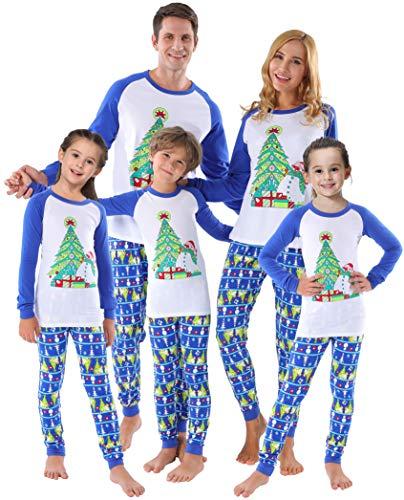 Matching Family Christmas Reindeer Pajamas Boys Girls Deer Long Sleeve Pants Set Elk Pyjamas Women M