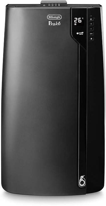 Climatizzatore portatile pinguino de longhi, 1050 w, 53 decibel, plastica, nero de`longhi pac ex120 silent PACEX120
