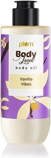 Plum BodyLovin' Vanilla Vibes Body Oil | Normal to Very Dry Skin | Deep Moisture | Instant Glow | Non-Greasy | Non-Sticky...