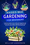 RAISED BED GARDENING FOR BEGINNERS: A BEGINNER'S GUIDE ON HOW TO BUILD A THRIVING GARDEN RIGHT AT YOUR HOME. GROW ORGANIC VEGETABLES, DELICIOUS FRUITS ... USING CONTAINERS AND VERTICAL GARDENING