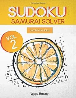Sudoku Samurai Solver Vol.2: Jumbo Sudoku (Giant Book Of Sudoku)
