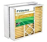 FilterBuy 20x20x5 Air Filter (2-Pack, MERV 11), HVAC AC Furnace Filters for Amana, Goodman, Coleman, Electro-Air, Five Seasons, Gibson, Nordyne, Totaline, & York (Actual Size: 20.25' x 20.75' x 5.25')