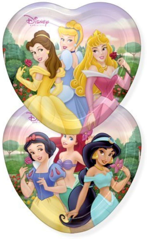 Disney Fairytale Princess 9 Dinner Plates  8 Count