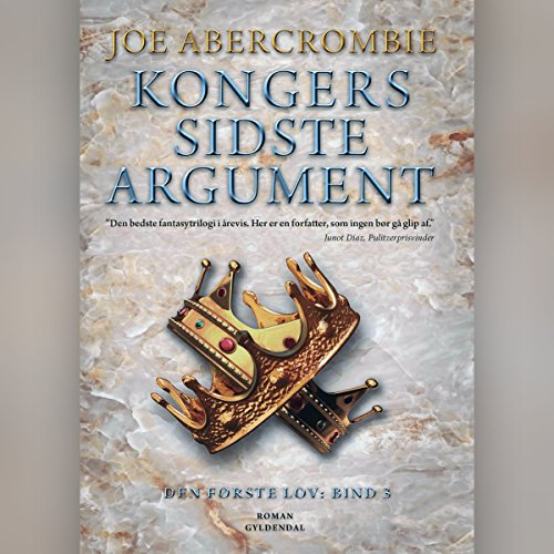 Kongers sidste argument     Den første lov 3              Written by:                                                                                                                                 Joe Abercrombie                               Narrated by:                                                                                                                                 Dan Schlosser                      Length: 24 hrs and 19 mins     Not rated yet     Overall 0.0