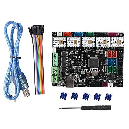 Gaoominy 3D Printer Board MKS GEN L V1.0+TMC2225 V1.1 x5 Ultra-Quiet Driver Kit