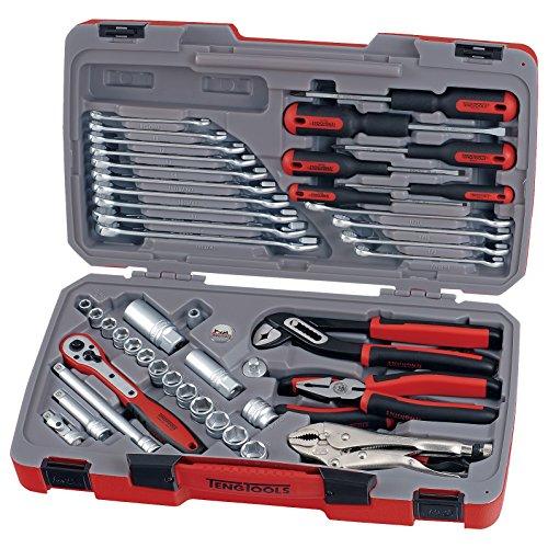 Teng T3848, 3/8Drive Socket und Werkzeug Set (48)