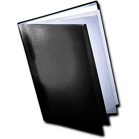 Dekko - Carpeta con fundas para documentos (A3), color negro