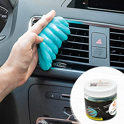 EcoNour Car Cleaning Gel for Dashboards, AC Vents, and Cup Holders   Gooey...