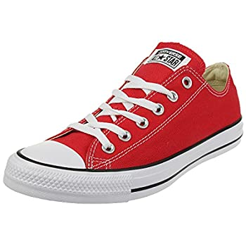 Converse Unisex Chuck Taylor All Star Low Top Red Sneakers - 12 D M  US